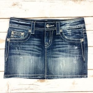 Miss Me Jean Skirt Size 26